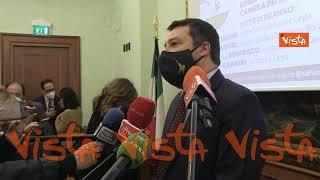 """Salvini: """"Lega chiederà in Cdm di cancellare il coprifuoco"""""""