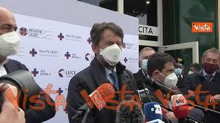 """Franceschini: """"Ho fatto il vaccino, importante che si siano scelti luoghi simbolo per gli hub"""""""