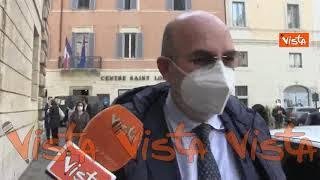 No comment di Vito Crimi sulla vicenda del figlio di Grillo
