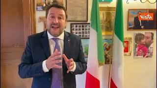 """Salvini: """"Con le giuste regole si può tornare a lavorare all'aperto e al chiuso"""""""