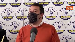 """Salvini: """"Portiamo in Cdm richiesta di riaprire come Madrid"""""""