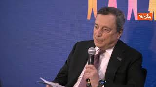 """Draghi: """"Dopo Covid più divari, donne e giovani pagano prezzo"""""""