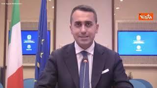 """Di Maio: """"Ministero Transizione ecologica tanto criticato riceve interesse dal resto del mondo"""""""