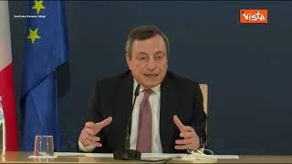 """Turismo, Draghi: """"Sarà necessario aumentare controlli in aeroporti. Riaprire ma con la testa"""""""