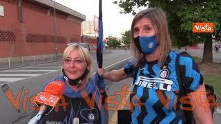 """Tifosi interisti in festa a San Siro: """"L'uomo simbolo dello scudetto? Lukaku"""""""