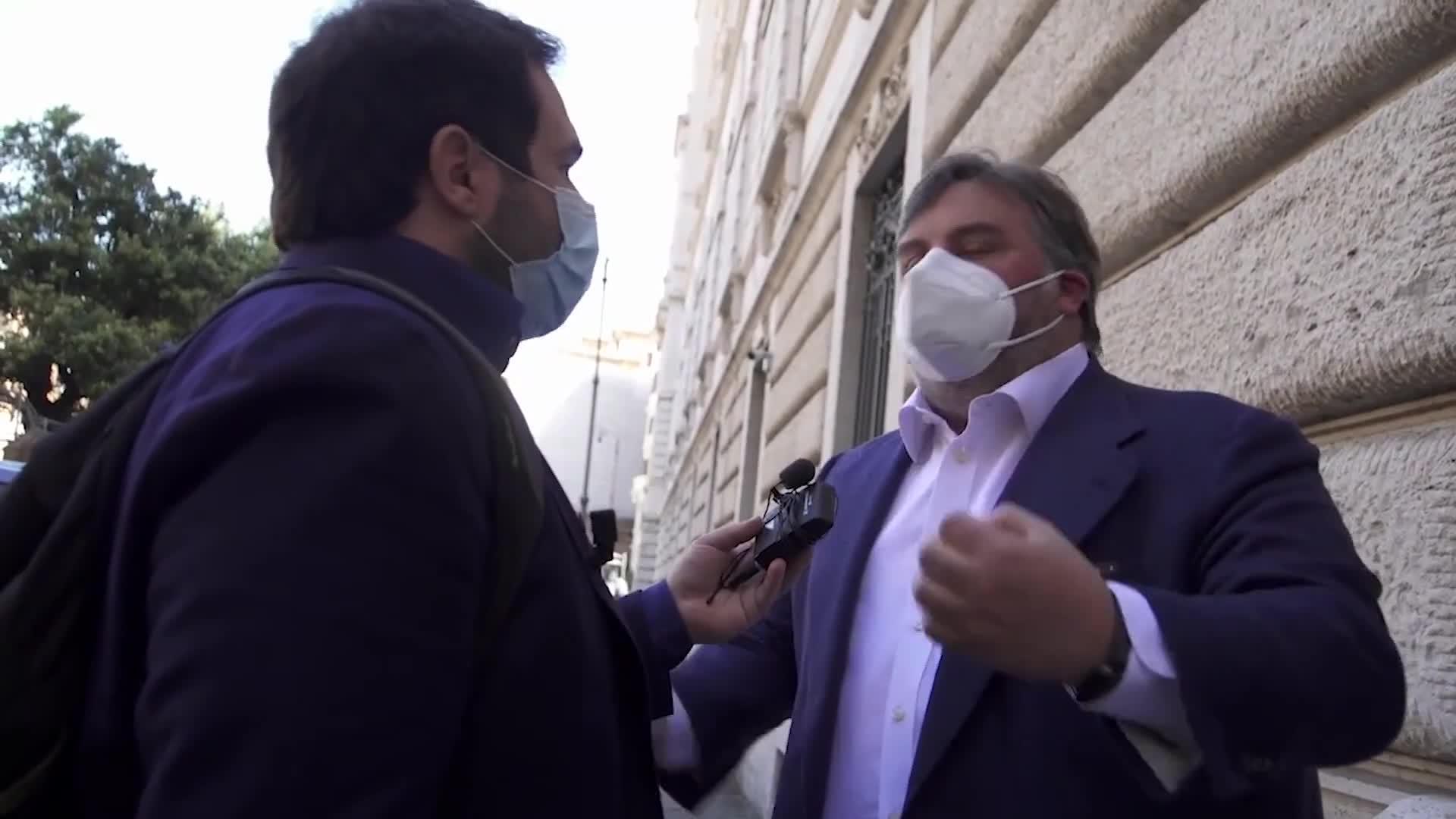La lite tra Luciano Nobili e Report