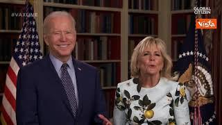 Il messaggio di Joe e Jill Biden al Vax Live per invitare gli americani a vaccinarsi