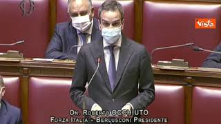"""Occhiuto (FI) a Draghi: """"Governo ha vinta battaglia vaccini, ora liberi gli italiani"""""""