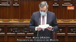 """Migranti, Draghi: """"Gli irregolari vanno rimpatriati"""""""