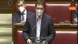 """Colletti (Misto): """"In altri Paesi Durigon si sarebbe dimesso, Draghi si dimostra complice"""""""