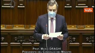 Draghi ricorda la morte sul lavoro della giovane Luana D'Orazio e l'Aula esplode in un applauso