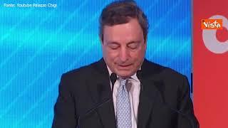 """Draghi: """"Un'Italia senza figli smette di esistere"""""""