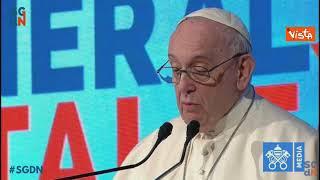 """Papa Francesco: """"Per ripartenza non possiamo seguire modelli miopi di crescita"""""""