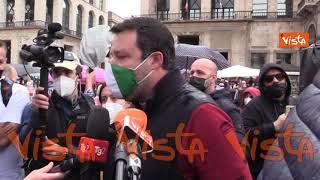 """Ddl Zan, Salvini: """"Chi discrimina va processato, ma no a idee su famiglie alternative nelle scuole"""""""