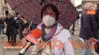 """In piazza Duomo per dire no al Ddl Zan: """"Il disegno di legge introduce il reato d'opinione"""""""
