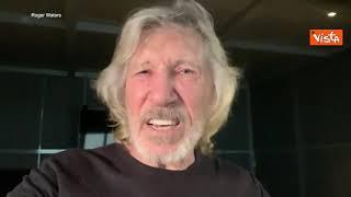 """Conflitto Gaza, Roger Waters a Joe Biden: """"Come reagiresti se bombardassero la tua casa?"""""""