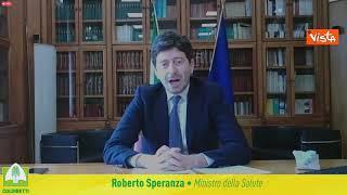 """Speranza: """"Con 28 milioni di italiani con prime dosi, orizzonti di ripartenza"""""""