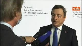 "Draghi: ""In Ue e Usa risposta a pandemia, ora anche per Africa"""