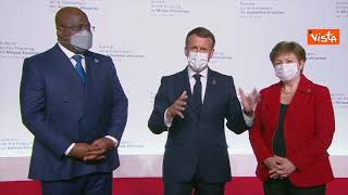 "Macron: ""In Africa servono finanziamenti per 285 miliardi di dollari da qui al 2025"""
