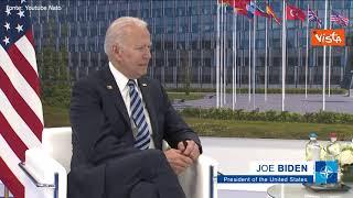 """Biden: """"Nato importantissima, se non ci fosse dovremmo inventarla"""""""