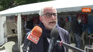 Muore Puoti, il candidato per Roma del Partito Comunista. Un mese fa la presentazione della lista