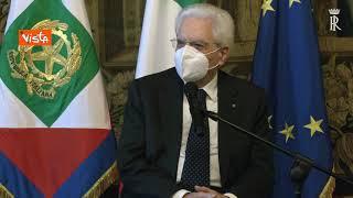 """Olimpiadi 2026, Mattarella: """"Progetto di straordinario successo e coraggio per il Paese"""""""