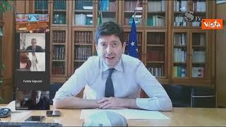 """Speranza: """"Con ordinanze di oggi 99% dell'Italia in zona bianca"""""""