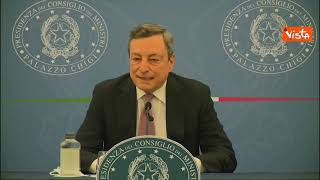 """Draghi: """"Chi non vuole eterologa, libero di fare seconda dose con AstraZeneca"""""""