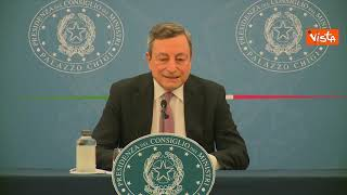 """Draghi: """"Su stato emergenza decideremo a ridosso scadenza"""". E cita Cassese"""