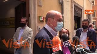 """Amministrative Roma, Zingaretti: """"Calenda? Si è auto-escluso e vuole boicottare centrosinistra"""""""