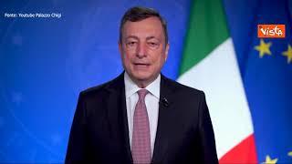 """Draghi: """"Riduzione delle disuguaglianze di genere deve essere una priorità a livello globale"""""""