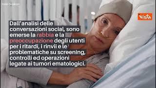 Giornata contro le leucemie, rabbia e preoccupazione nelle conversazioni social durante la pandemia