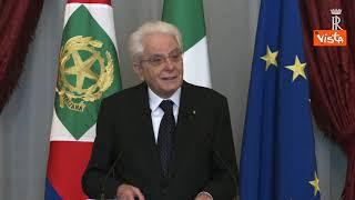 """Mattarella: """"Guardia finanza istituzione affidabile"""""""