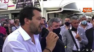 """Salvini in Calabria: """"Tornare alla democrazia nei tanti comuni commissariati"""""""