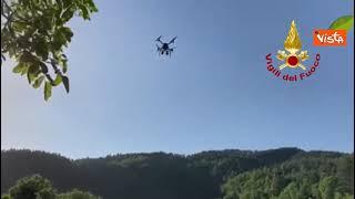 Ritrovato bambino scomparso nel Mugello, le ricerche con i droni