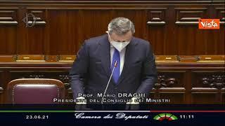 """Draghi replica a Rampelli (FdI): """"Porto avanti interessi italiani in Europa"""""""