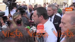 """Sparatoria Voghera, Salvini: """"Se prendo le distanze? No, lascio decidere a giudici"""""""