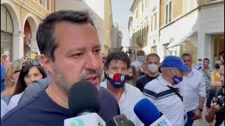 "Vaccino, Salvini: ""Deve essere una libera scelta"""