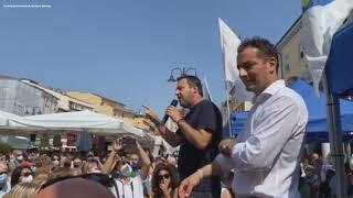 """Ddl Zan, Salvini: """"No a leggi che portano gender sui banchi di scuola"""""""