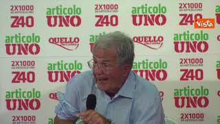 """Prodi: """"Se pensiamo a rivoluzione ambiente comprando tutto in Cina ci saranno forconi"""""""