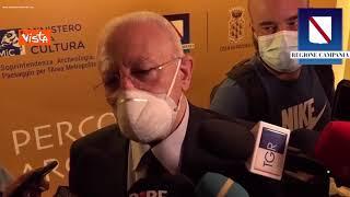 """De Luca: """"Scuole non riapriranno in presenza se gli studenti non sono vaccinati"""""""