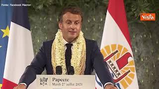"""Macron sugli esperimenti nucleari in Polinesia: """"Tutti devono sapere la verità"""""""