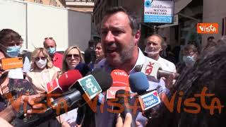 """Green pass, Salvini: """"No a tifoserie sì-vax contro no-vax. Sono per libertà di scelta"""""""