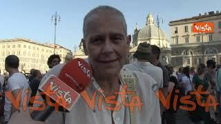 Protesta no al Green pass a Piazza del Popolo, ecco cosa ne pensano i manifestanti