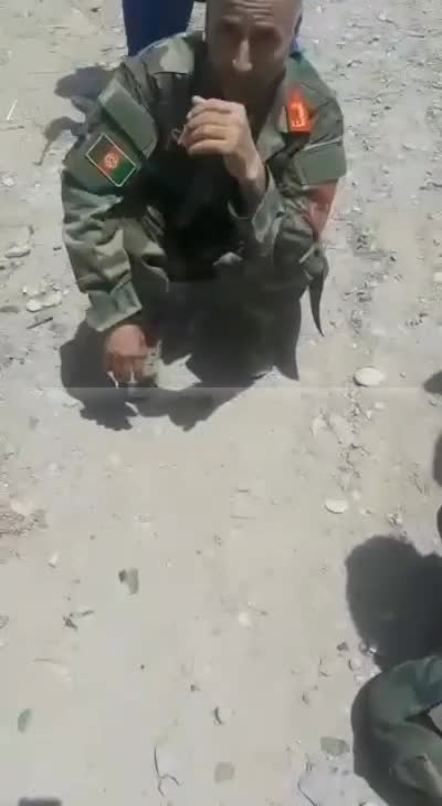 Il colonnello Hamidi catturato dai talebani