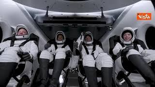 Ecco il lancio del razzo SpaceX Falcon 9 di Elon Musk