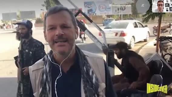 """""""Una prova di forza..."""". Il checkpoint talebano nel santuario afghano"""