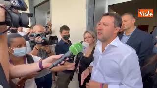 """Salvini: """"I giudici lascino stare Berlusconi. che ha fatto tanto per l'Italia"""""""