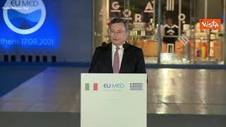 """Transizione ecologica, Draghi: """"Non c'è più tempo"""""""