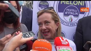 """Vaccini ai bambini, Meloni: """"Non lo farei fare a mia figlia"""""""